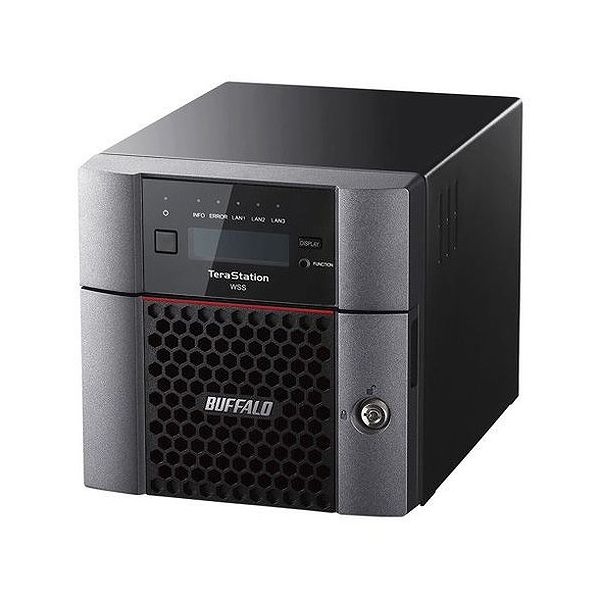 バッファロー TeraStation WSS Windows Storage Server 2016 法人向け2ドライブNAS 4TB WS5220DN04W6(代引不可)