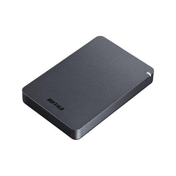 バッファロー USB3.1(Gen.1)対応 耐衝撃ポータブルHDD 2TB ブラック HD-PGF2.0U3-BBKA(代引不可)