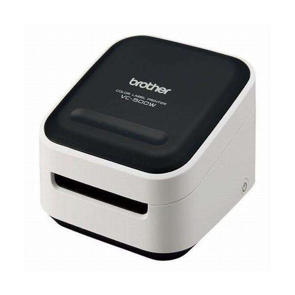 ブラザー工業 感熱カラーラベルプリンター(313dpi スマホ・PC接続専用 無線LAN USB)VC-500W(代引不可)