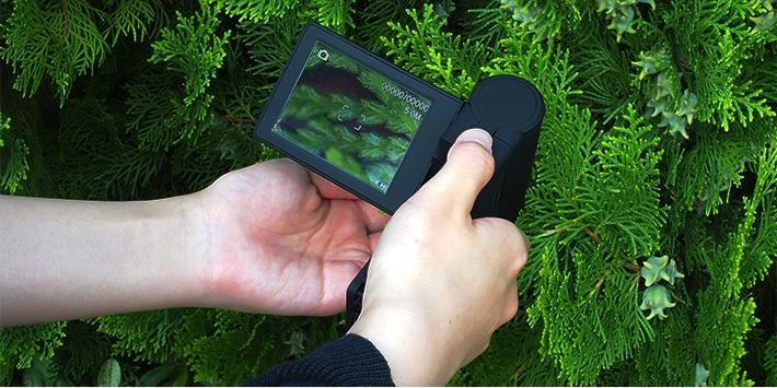 スリー・アールシステム 携帯式デジタル顕微鏡 3R-MSV201(代引不可)【S1】