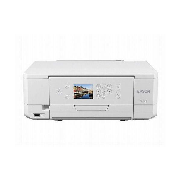 エプソン Colorio 多機能モデル EP-812A(A4 無線LAN Wi-Fi Direct 2.7型液晶 自動両面印刷 レーベルプリント 6色染料)()