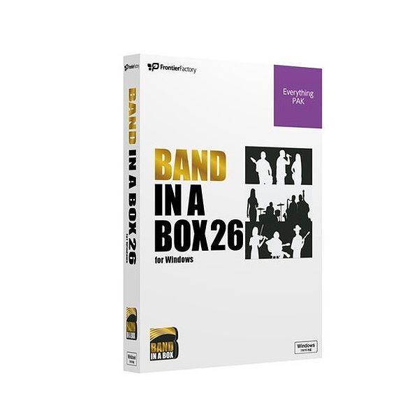 フロンティアファクトリー Band-in-a-Box 26 for Windows EverythingPAK PGBBQEW111()【送料無料】