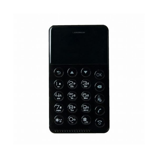 フューチャーモデル NichePhone-S ブラック MOB-N17-01-BK(代引不可)