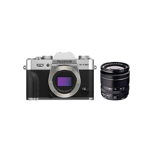 【まとめ買い】 富士フイルム (X)FUJIFILM ミラーレスデジタルカメラ X-T30・レンズキット(2610万画素 XF18-55mm シルバー) X-T30LK-S(), IMPRISE ONLINE 399826f2