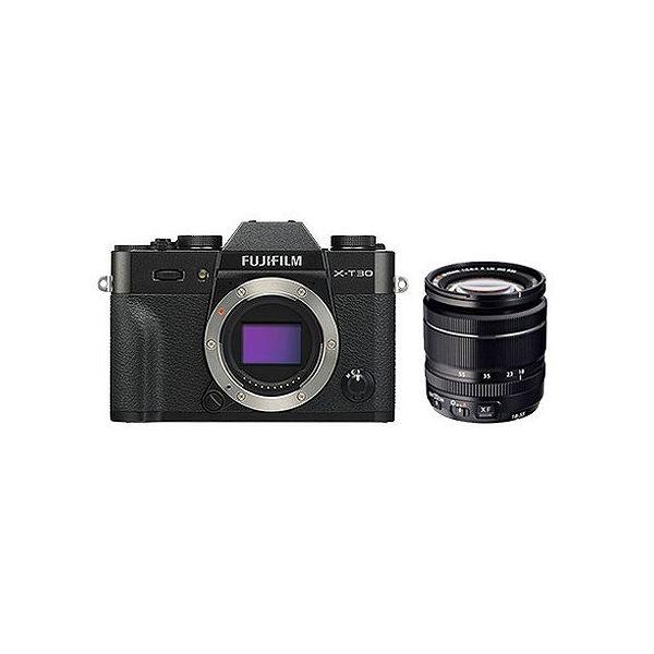 最新コレックション 富士フイルム (X)FUJIFILM ミラーレスデジタルカメラ X-T30・レンズキット(2610万画素 XF18-55mm ブラック) X-T30LK-B(), 表札屋ドットコム e8468610