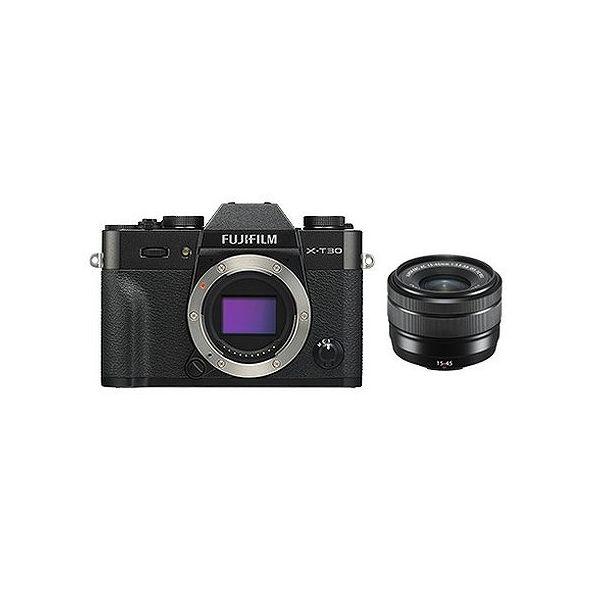 当店在庫してます! 富士フイルム (X)FUJIFILM ミラーレスデジタルカメラ X-T30・レンズキット(2610万画素 XC15-45mm ブラック) X-T30LK-1545-B(), 木材 DIY 北零WOOD 28e6079f