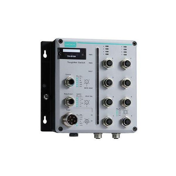 MOXA L2 マネージドイーサネットスイッチ デュアル電源(24-110VDC) Tモデル TN-5510A-2GLSX-ODC-WV-T()