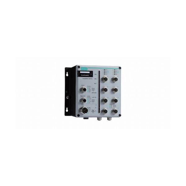 MOXA EN 50155認証 8ポートマネージドイーサネット 8 PoEスイッチ TN-5510A-8POE-2GTXBP-WV-CT-T()