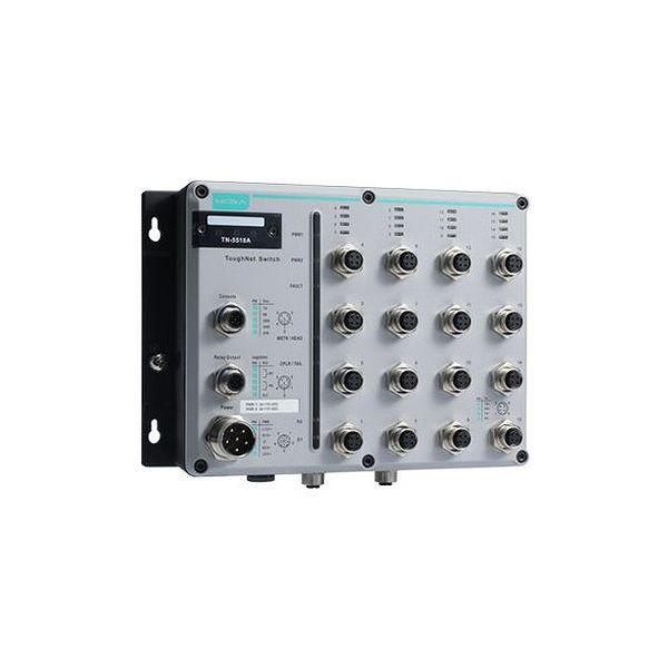MOXA EN 50155認証 16+2Gポートギガビットイーサネット 8PoEスイッチ TN-5518A-8POE-2GTX-WV-T()