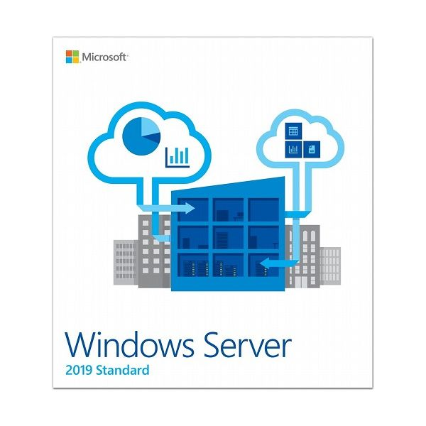 Microsoft Windows Server Standard 2019 64Bit Japanese Academic 1 License DVD 16 Core License 10 Client P73-07943(代引不可)