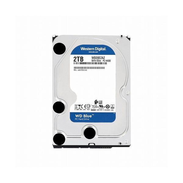 ウエスタンデジタル WD Blue 3.5インチ内蔵HDD 2TB SATA6Gb s 5400rpm 256MB WD20EZAZ(代引不可)