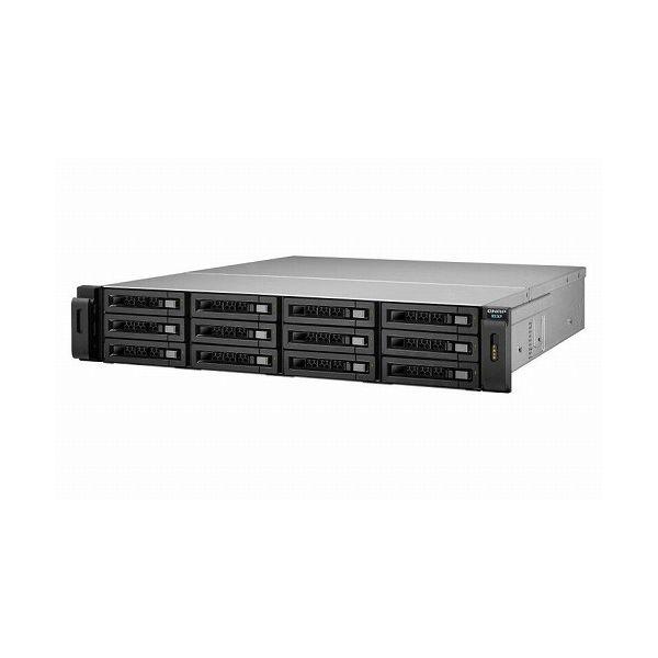 QNAP REXP-1220U-RP 120TB HDD搭載モデル (ニアラインSATA 10TB HDD x 12 搭載) REXP-1220U-RP 120TB(代引不可)