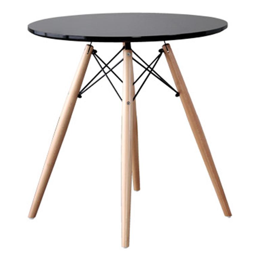 【ダイニングテーブル テーブル】イームズチェアとの組み合わせが極上のラウンドテーブル(代引不可)【送料無料】