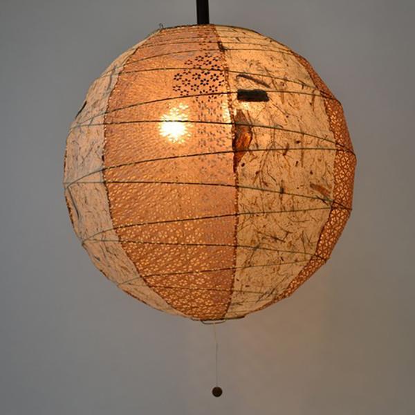 日本製和紙照明 丸型ペンダントライト【送料無料】【S1】