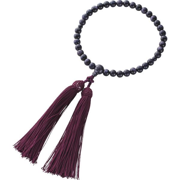 紫金石念珠 装身具 アクセサリー ブレスレット 1604KC003(代引不可)【送料無料】
