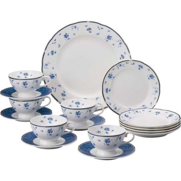 ナルミ シャンソネット 16ピース ティーセット シャンソネット 洋陶器 洋陶バラエティー ホームセット 41631‐34287(代引不可)