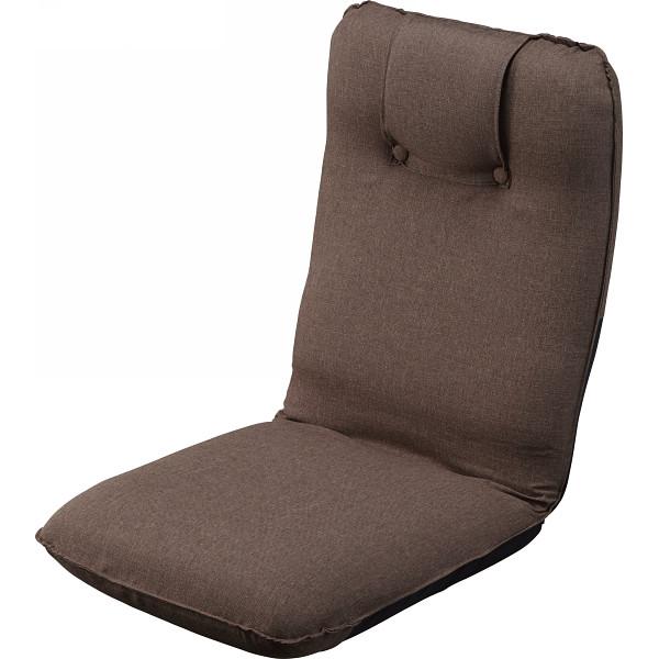 低反発折りたたみ座椅子 ブラウン 木製品 家具 ソファ 座椅子 肘なし座椅子 ST-016BR(代引不可)【送料無料】