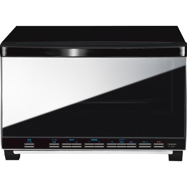 ツインバード ibistory ミラーガラスオーブントースター 電化製品 電化製品調理機器 オ-ブント-スタ- TS-4057B(代引不可)