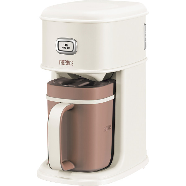 サーモス サーモス アイスコーヒーメーカー バニラホワイト ECI 電化製品 電化製品調理機器 コ-ヒ-メ-カ- ECI-660VWH(代引不可)【送料無料】