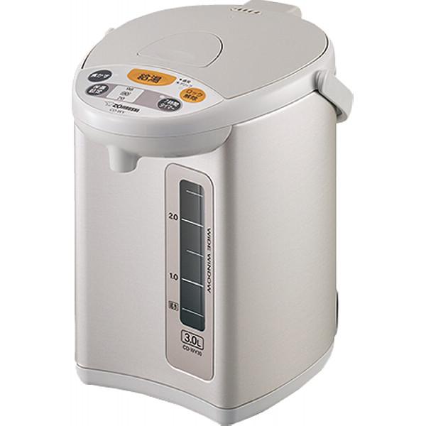 象印 電動給湯ポット グレー ポット ボトル 電気ポット マイコン沸騰3.0 CD-WY30-HA(代引不可)
