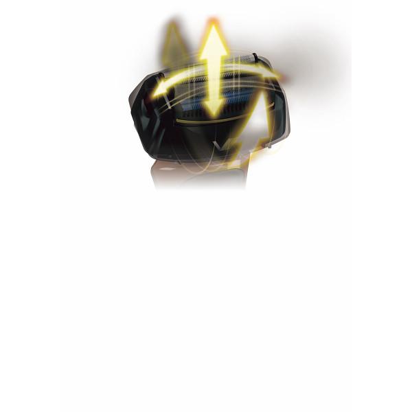イズミ 往復式シェーバー(充電 交流式) ブラウン 電化製品 電化製品家事機器 シェバ- IZF-V66-T(代引不可)【送料無料】
