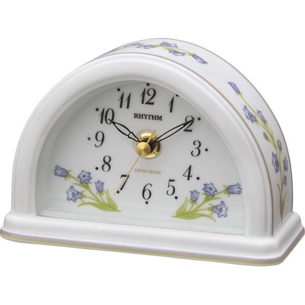 豪華 リズム 有田焼 室内装飾品 置時計 室内装飾品 置き時計 置き時計 目覚し重視時計 置時計 8RG624SR12(代引不可), 熊野市:f72763de --- onlinegamefan.xyz