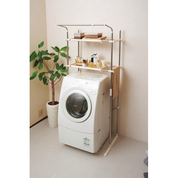 セキスイ ステンレス洗濯機ラック 台所 日用品 収納 家庭日用品 日用品雑貨 SSR-40(代引不可)【送料無料】