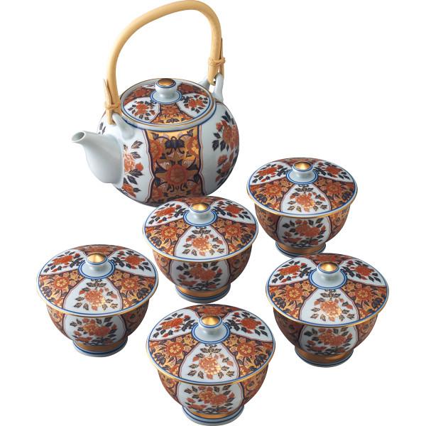 波佐見焼 極上古伊万里 番茶器揃 和陶器 和陶茶器 蓋付土瓶茶器 363729(代引不可)