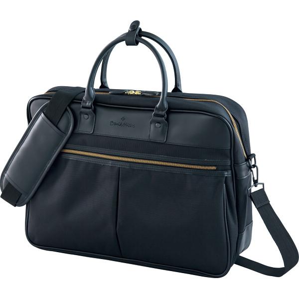 デービッド ヒックス ビジネスバッグ ベルト カバン バッグビジネス 横型ショルダ- DHBUB150‐BK(代引不可)【送料無料】