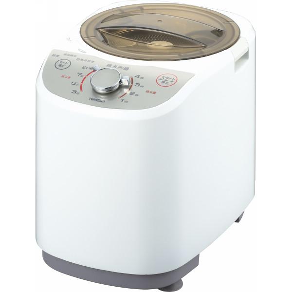 ツインバード 家庭用コンパクト精米器 精米御膳 電化製品 電化製品調理機器 その他調理小物 MR-E520W(代引不可)【送料無料】