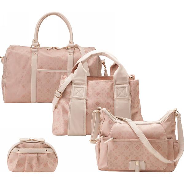 クレアトラベラー トラベル4点セット(ボストン トート ショルダー ポーチ) ピンク アパレル 婦人小物 バッグ CR31725-P(代引不可)【送料無料】