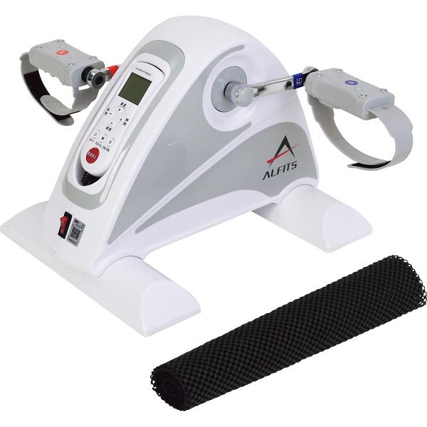 アルインコ 電動バイクムーブアシスト ホワイト 健康機器 トレーニング機器 エアロバイク AFB3016(代引不可)【送料無料】