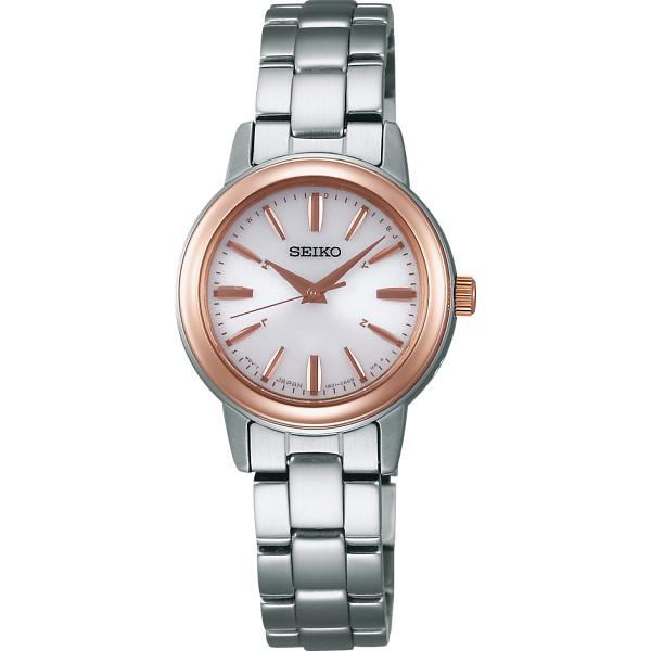 セイコー ソーラー電波 レディース腕時計 装身具 婦人装身品 婦人腕時計 SSDY018(代引不可)【送料無料】