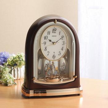 セイコー 電波メロディ置時計(16曲入) BY239B(代引不可)