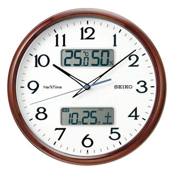 セイコー ハイブリッド電波掛時計 ZS252B(代引不可)