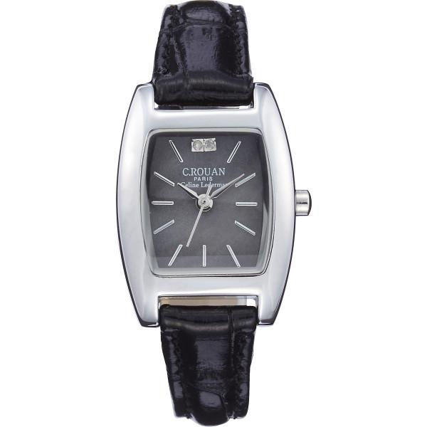 セ ルーアン レディス腕時計 ブラック 装身具 婦人装身品 婦人腕時計 CRTK-100BL(代引不可)