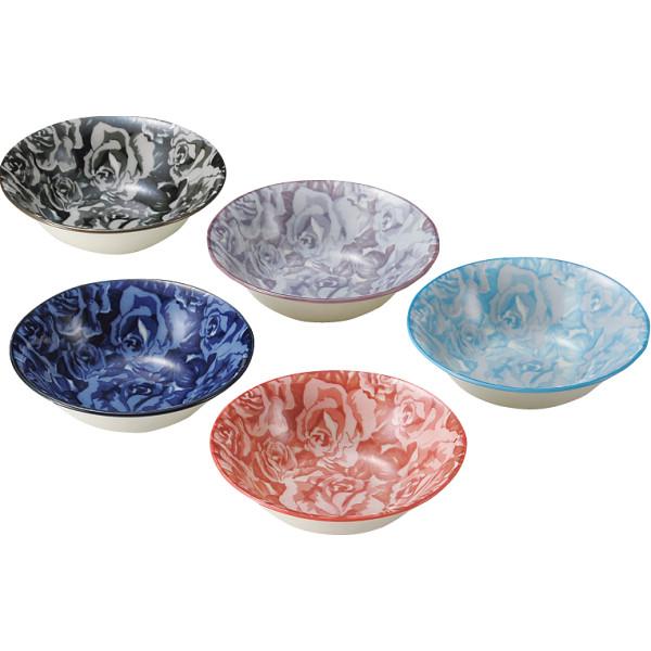 イングリッシュガーデン サラダボウル5個セット イングリッシュガーデ 洋陶器 洋陶鉢 サラダセット EG-2002A(代引不可)