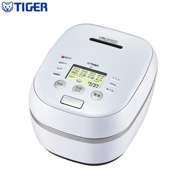 タイガー魔法瓶 土鍋圧力IH炊飯ジャー 炊きたて 5.5合 JPH-A101 WE アーバンホワイト 炊飯器【送料無料】