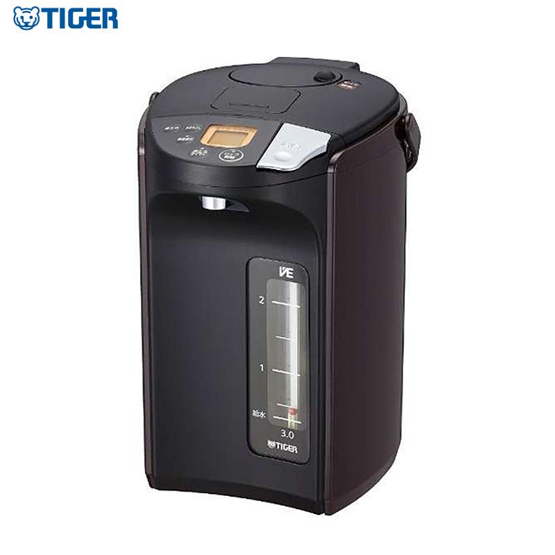 タイガー魔法瓶 蒸気レス VE電気まほうびん 3.0L PIS-A300T ブラック とく子さん 電気ポット 電動ポット【送料無料】