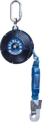ツヨロン ベルト巻取式ベルブロック(6mタイプショック付キ) BB60BX