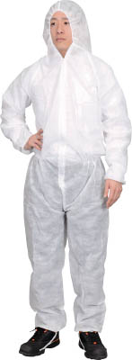 TRUSCO マトメ買イ 保護服(1層タイプ) XXLサイズ 50着入リ TPSBXXL