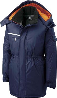 ジーベック 581581防水防寒コート 紺 LL 58110LL