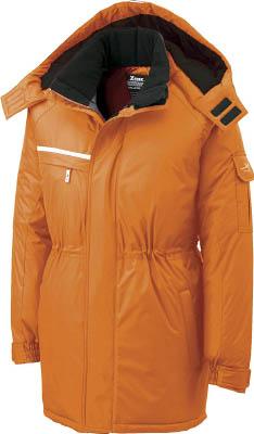 ジーベック 581581防水防寒コート オレンジ LL 58182LL