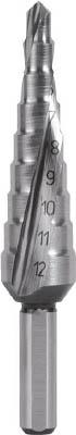 RUKO 2枚刃スパイラルステップドリル 20mm コバルトハイス 101051E