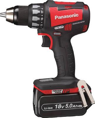 Panasonic 充電ドリルドライバー 18V 5.0Ah (赤) EZ74A2LJ2GR