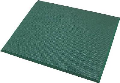 カーボーイ 足腰マット 穴なし Mサイズ グリーン AM02GR【S1】