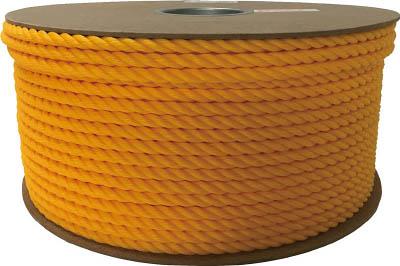 ユタカ ポリエチレンロープドラム巻 9mm×150m イエロー PRE50