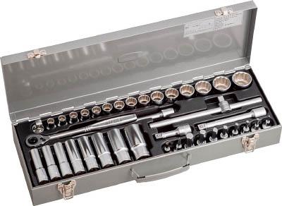 TONE ミックスソケットレンチセット 39pcs MX400