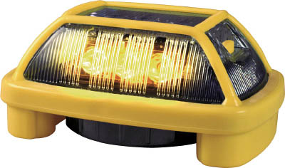 NIKKEI ニコハザード VK16H型 LED警告灯 黄 VK16H004H3Y【S1】