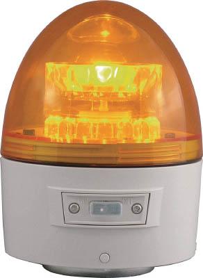 NIKKEI ニコカプセル VL11B型 LED回転灯 118パイ 黄 VL11B003AY